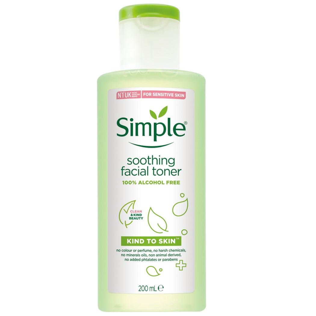 Simple清妍親膚舒緩保濕化妝水 200ML 【康是美】