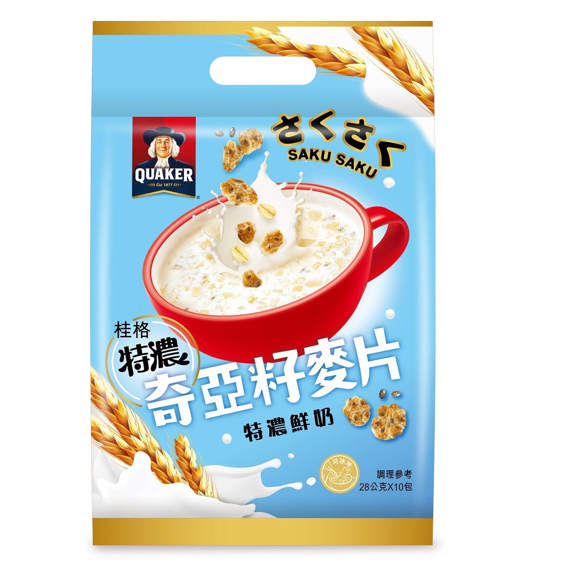 桂格奇亞籽麥片-特濃鮮奶 【康是美】
