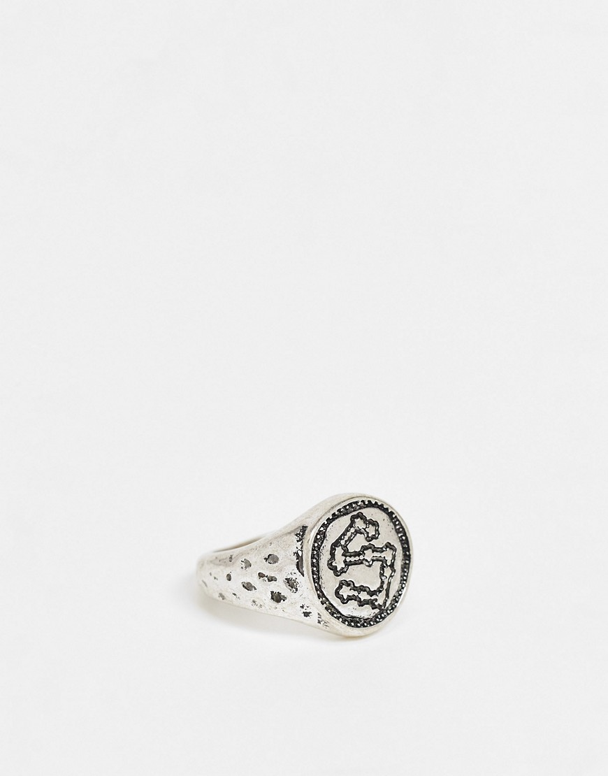 Status Syndicate space age ring-Silver