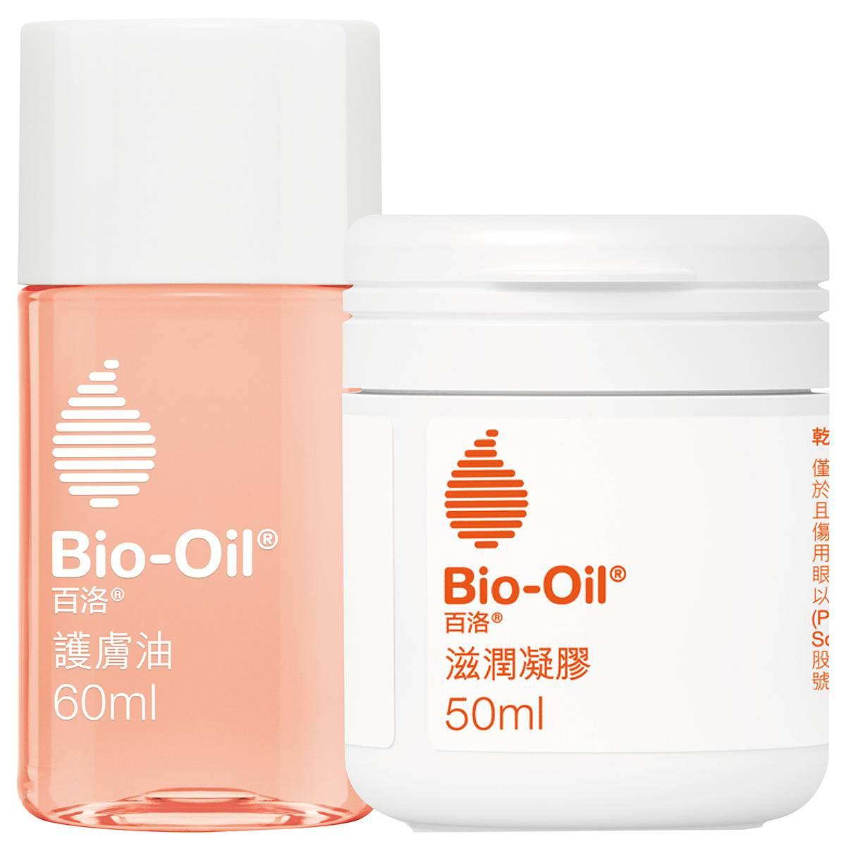 Bio-Oil百洛膠油雙入組( 百洛油60ml+百洛凝膠50ml)【康是美】