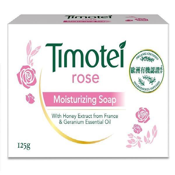 蒂沐蝶玫瑰植萃保濕皂125G【康是美】