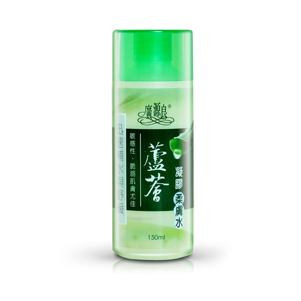 廣源良蘆薈凝膠柔膚水150ml【康是美】
