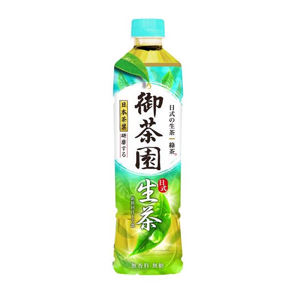 御茶園日式生茶 550ml *團購*24入 【康是美】