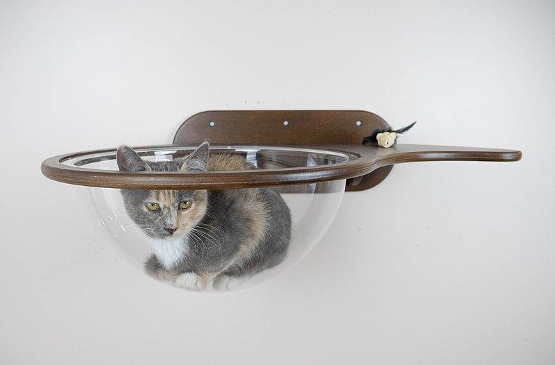 貓架子窗戶壁掛式木製貓咪空間