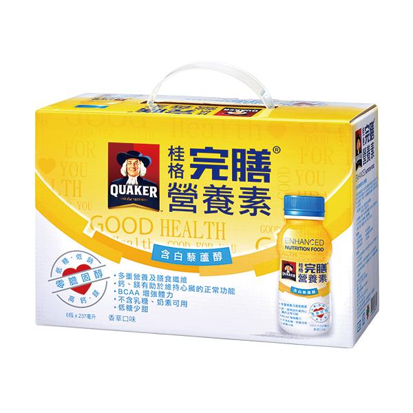 桂格完膳營養素白藜蘆醇配方(237ml*6入) 【康是美】