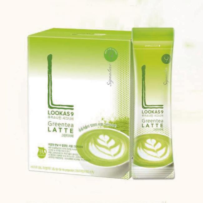 Namyang 韓國南陽乳業 LOOKAS 9 抹茶拿鐵 Green Tea Latte 10包入 【康是美】
