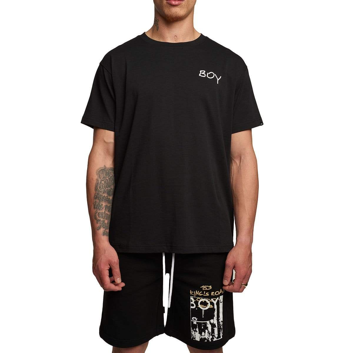 EPOCH TEE BLACK - XL