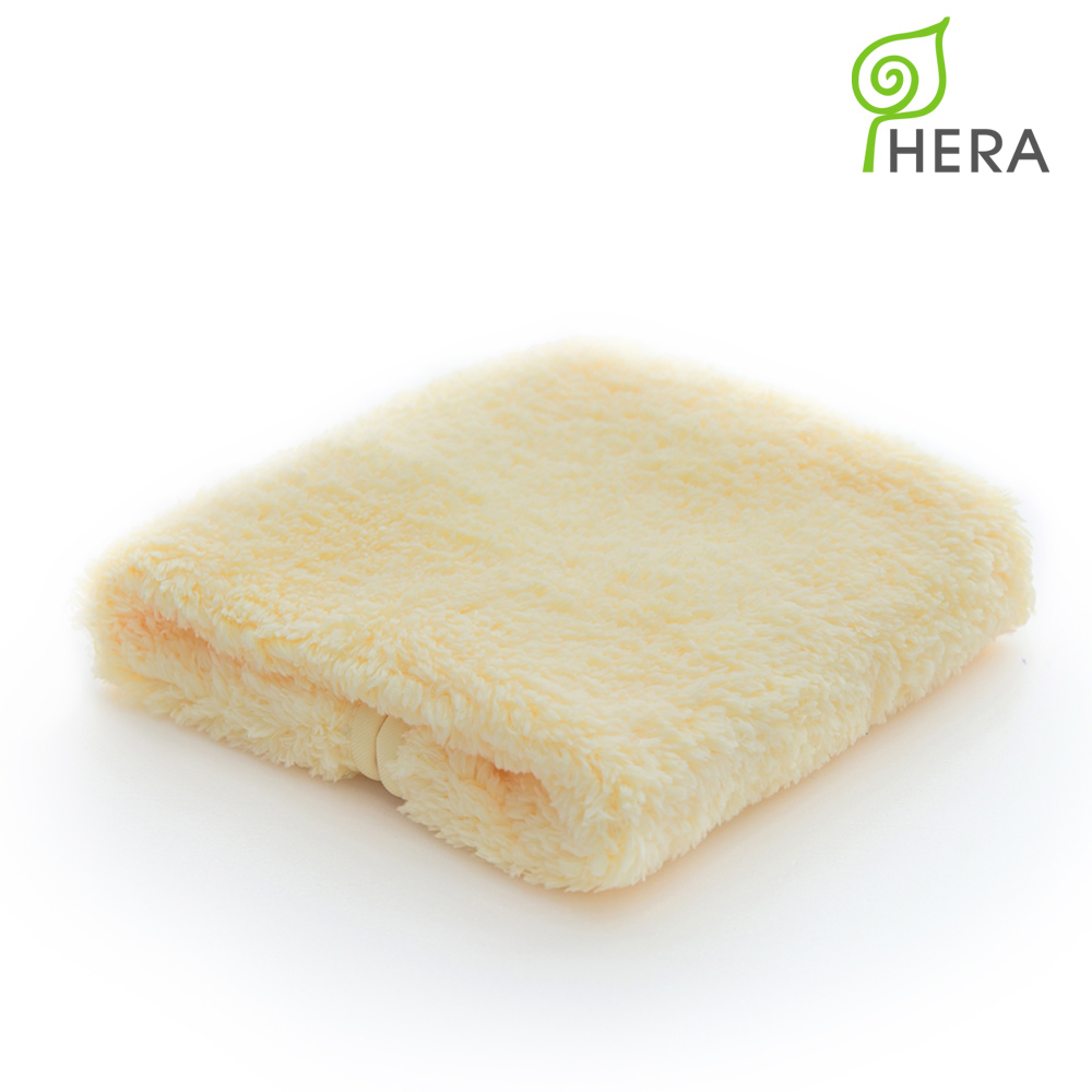 HERA-3M專利瞬吸快乾抗菌超柔纖-小浴巾(奶油黃)