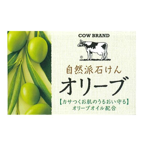 牛乳石鹼自然派橄欖皂100g【康是美】