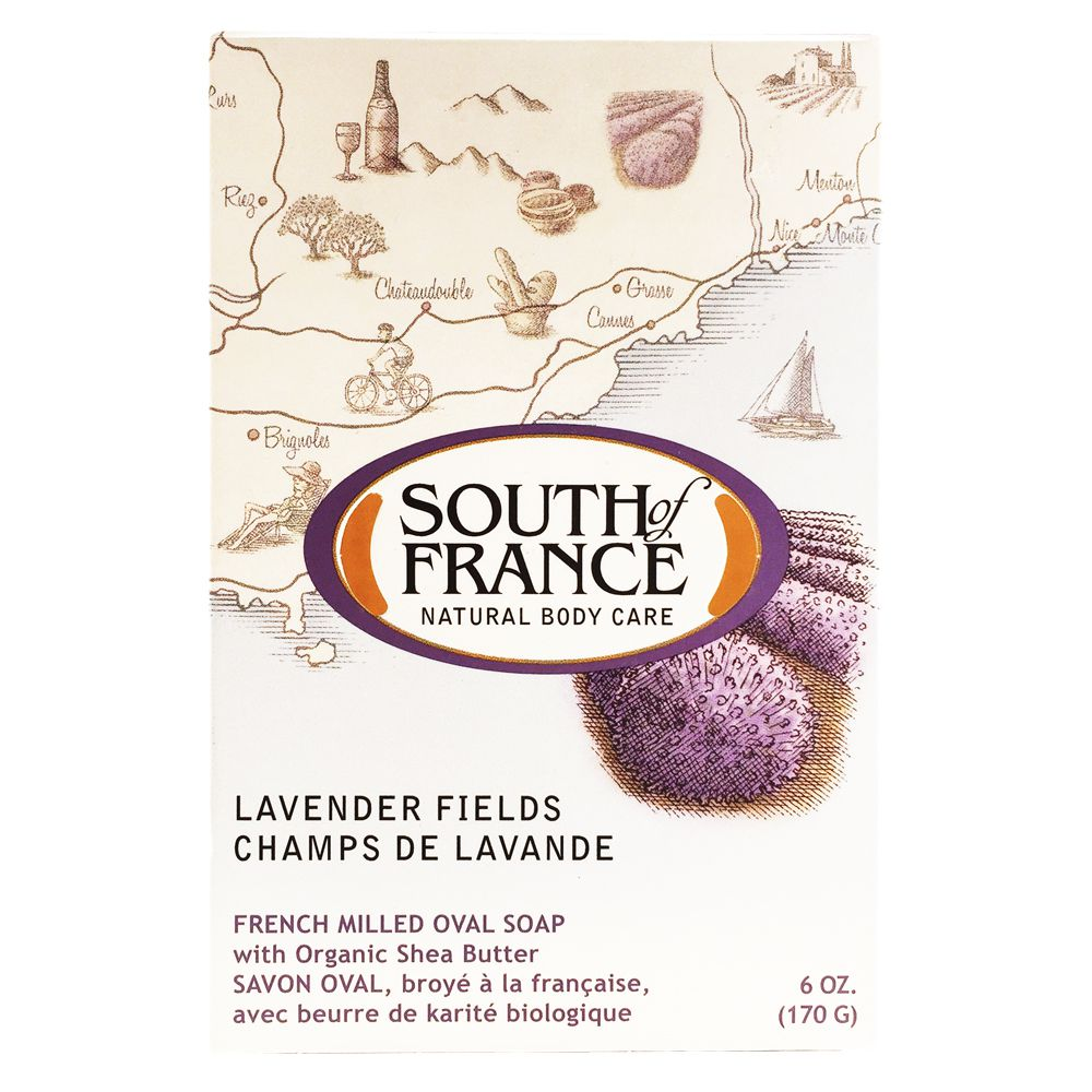 SOF 南法馬賽皂-薰衣草莊園170g【康是美】
