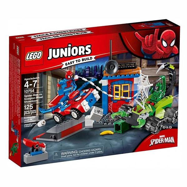 LEGO 樂高 JUNIOR系列 蜘蛛人和毒蠍人 10754