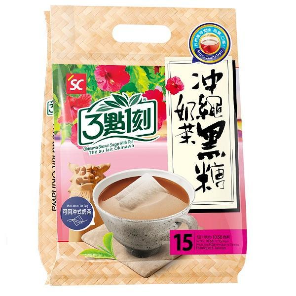 3點1刻沖繩黑糖奶茶20g*15 【康是美】