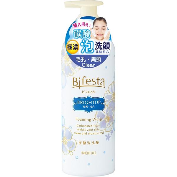Bifesta碧菲絲特抗暗沉碳酸泡洗顏180g【康是美】