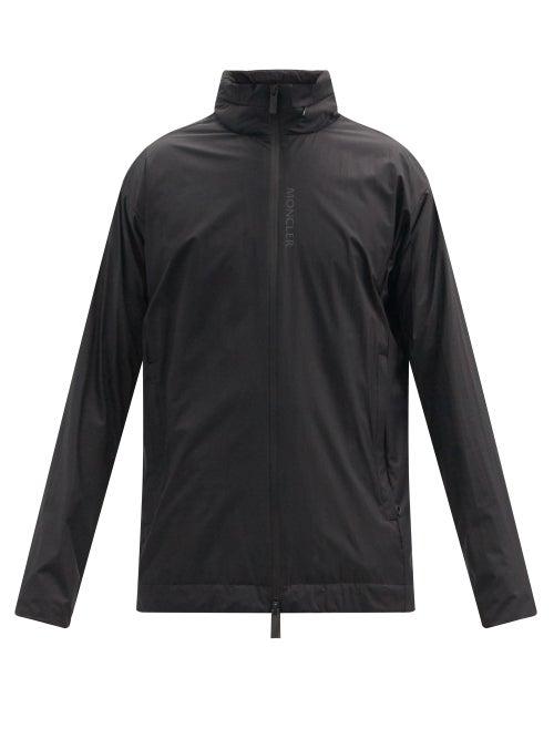 Moncler - Itier Stowaway-hood Ripstop Jacket - Mens - Black