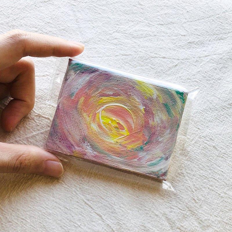母胎-原創療癒畫作 | 擺飾收藏 | 非複製畫 | 無框畫