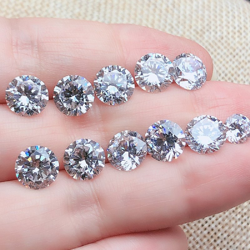 人工鑽石 高碳鑽 純淨 無雜質 光彩透亮