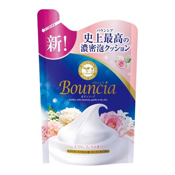 牛乳石鹼 美肌滋潤沐浴乳補充包(愉悅花香)400ml【康是美】