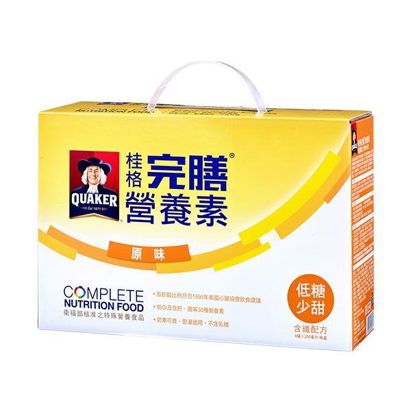 桂格完膳營養素含纖原味配方(250ml*8入) 【康是美】