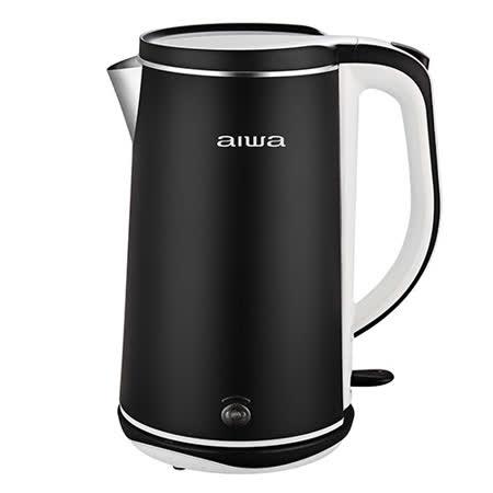 AIWA愛華 1.8L雙層防燙電茶壺DKS110518