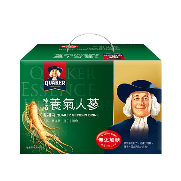 桂格無糖養氣人蔘盒裝(19瓶入)*團購*2入  【康是美】
