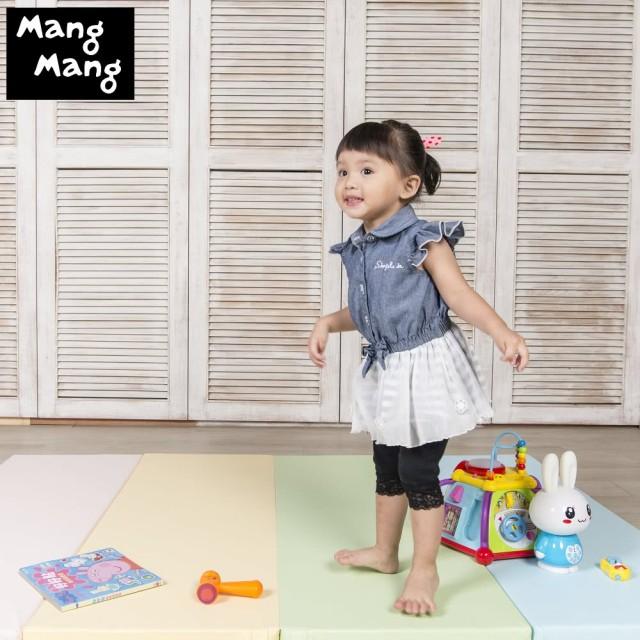 Mang Mang小鹿蔓蔓-兒童摺疊遊戲地墊S號(4cm) 新色-粉嫩色