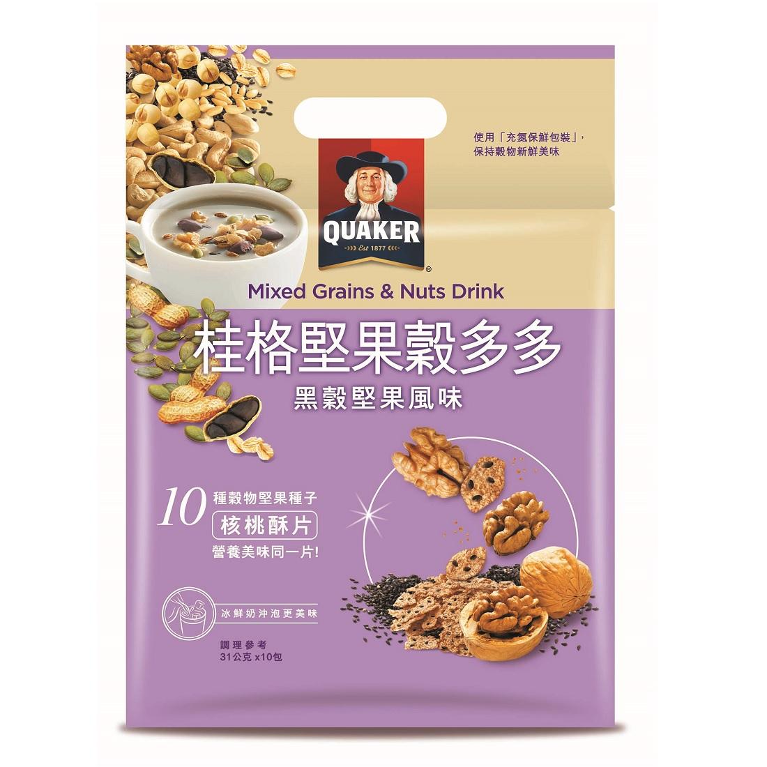 桂格堅果穀多多-黑穀堅果風味 【康是美】