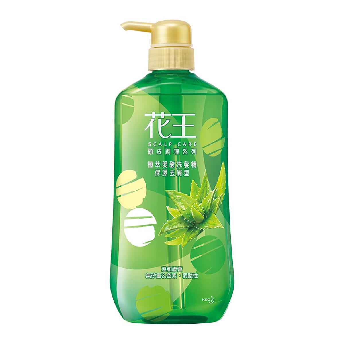 花王植萃弱酸洗髮精保濕去屑型750ML 【康是美】