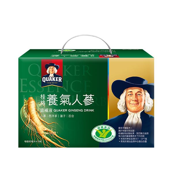 桂格養氣人蔘盒裝(19瓶入) 【康是美】