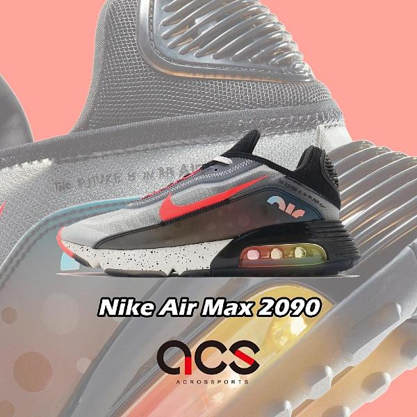 Nike 休閒鞋 Air Max 2090 黑 紅 彩色 男鞋 氣墊 全新鞋款 運動鞋 【ACS】 DD8497-160