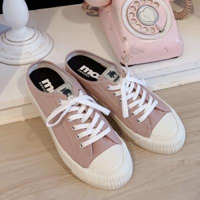 moz瑞典 穆勒拖鞋式餅乾鞋(乾燥玫瑰)