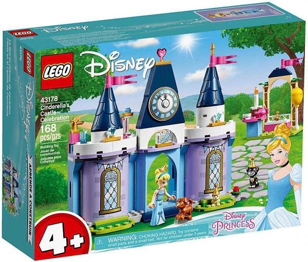 LEGO 樂高 公主系列迪士尼 仙杜瑞拉的城堡慶典 43178