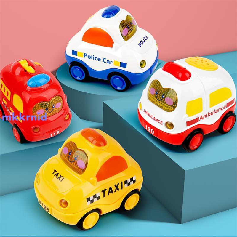 【年末大促】寶寶玩具車男孩回力車慣性車工程車兒童挖掘機小汽車挖土機套裝