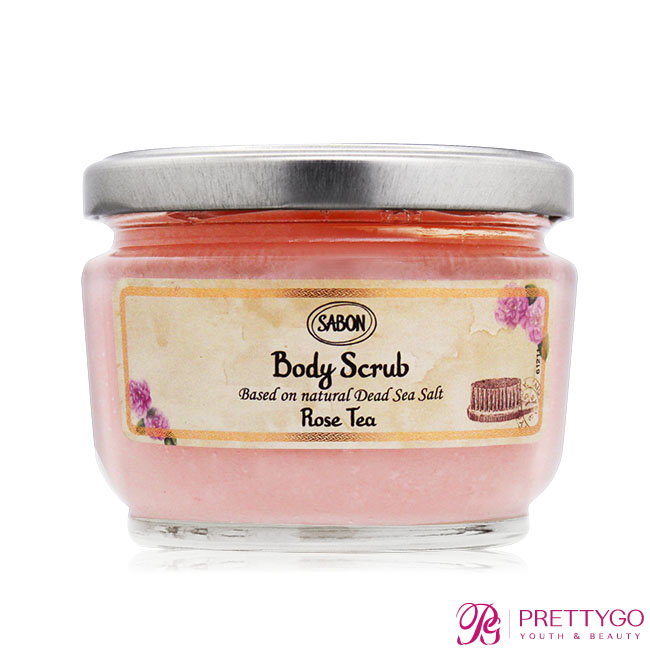 SABON 玫瑰茶語身體磨砂膏(320g)-國際航空版