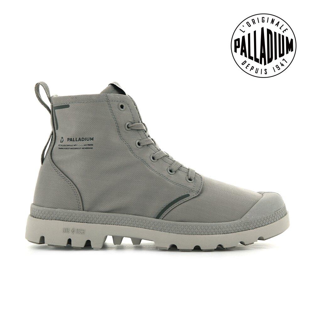 PALLADIUM PAMPA LITE+ RCYCL WP+再生纖維輕量防水靴-中性-石頭灰