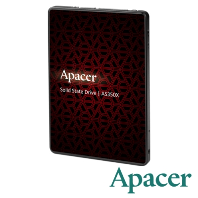 Apacer AS350X 256GB 2.5吋SSD固態硬碟