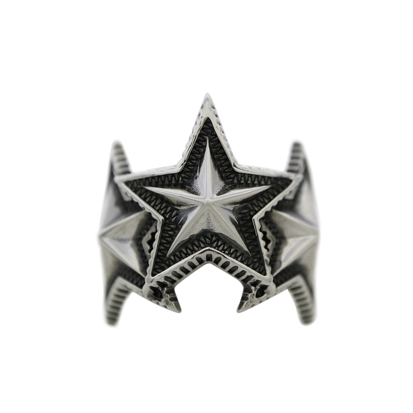3 INTERLOCKING STAR RING - 2021 [USD $900]