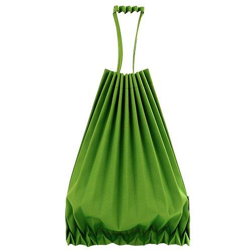ISSEY MIYAKE- ME系列 皺褶旅行手提摺包(蘋果綠色)(305200-97)