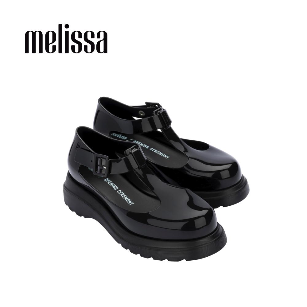 【Women】 Melissa x Opening Ceremony BLOCK T字簍空休閒鞋-黑 (MA50-32903 10)