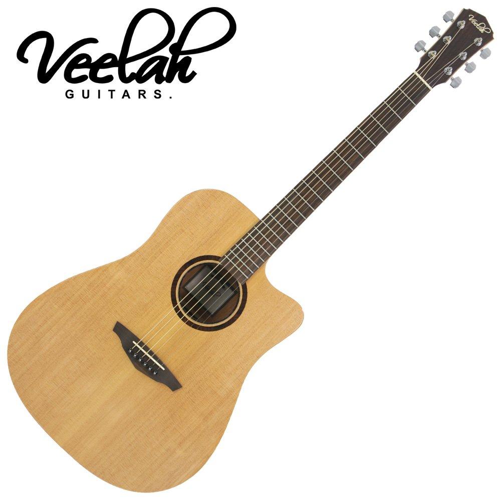 VEELAH V1-DC 民謠吉他/隨琴附贈琴袋背帶以及彈片