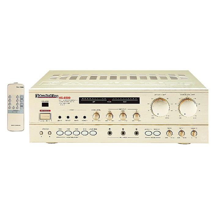Audio King HS-6500 專業擴大機 迴音效果最明顯 提昇歌唱音質 公司貨享保固《名展影音》