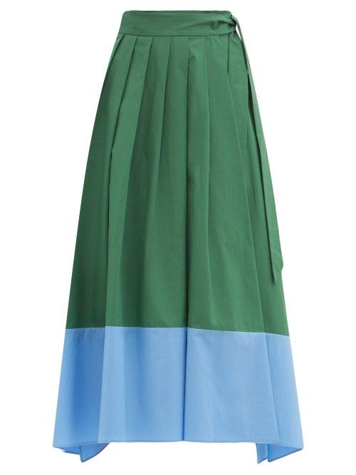 Weekend Max Mara - Oblare Skirt - Womens - Green Multi