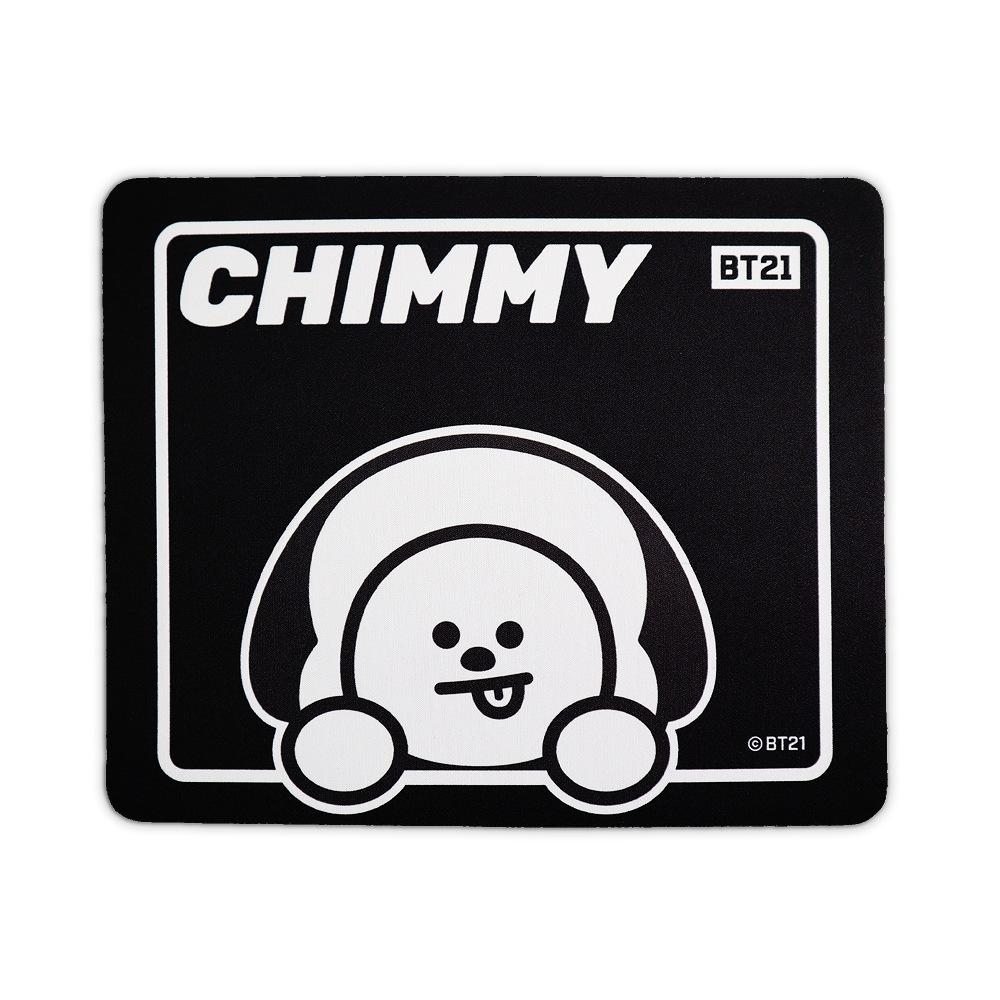 BT21 CHIMMY 萬用墊(Wappen系列/可當滑鼠墊)