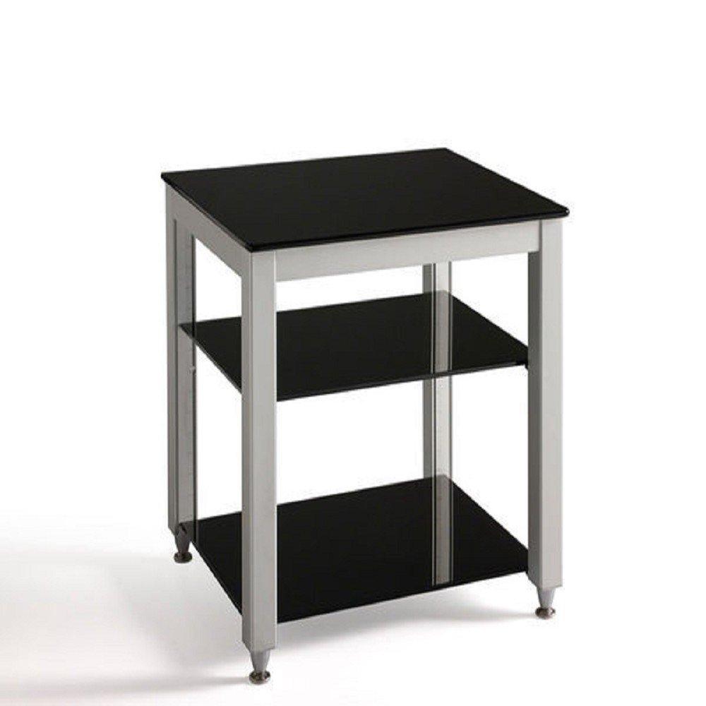 ZY300/ZY-300高級黑色釉玻璃.電視架,層板無段式可調整哦!