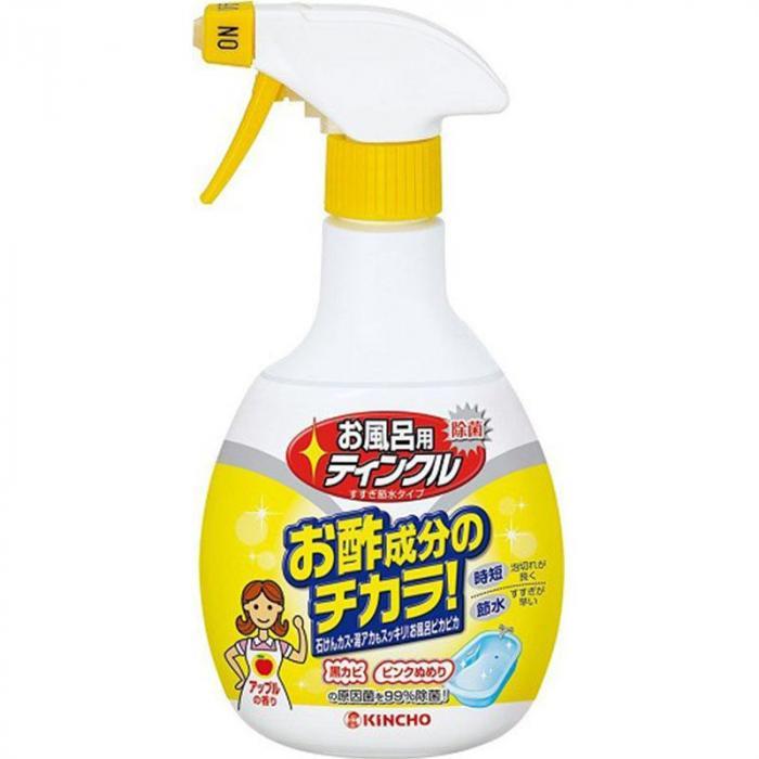 日本金鳥KINCHO~醋成分-浴室排水口除臭除菌洗淨劑400ml