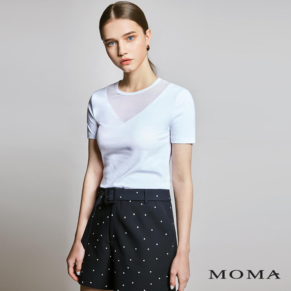 MOMA(01P025)點點短褲-剩餘34號