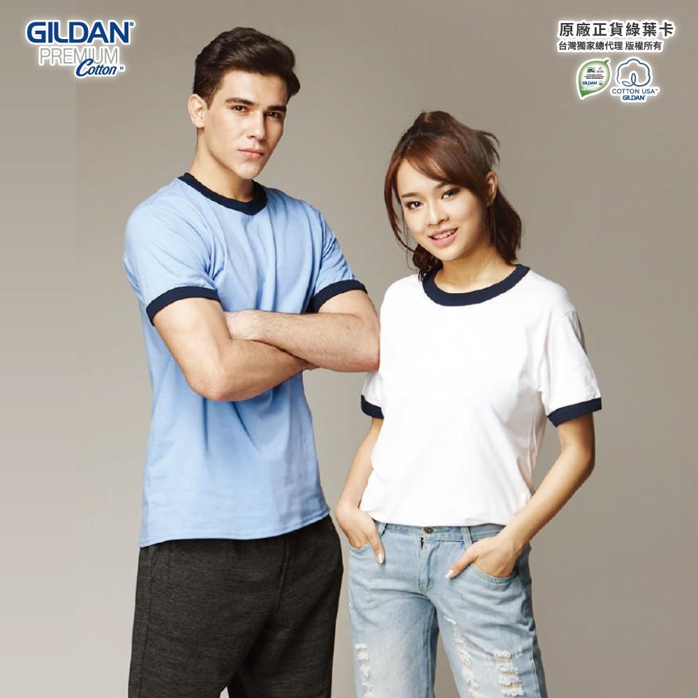 Gildan 吉爾登 76600 亞規滾邊中性T恤 美國進口 廠商直送