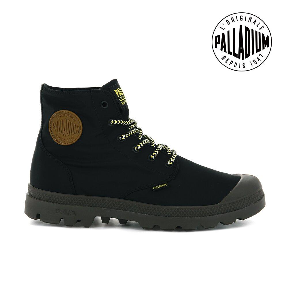 PALLADIUM PAMPA PUDDLE LITE+ WP+輕量防水靴-中性-黑
