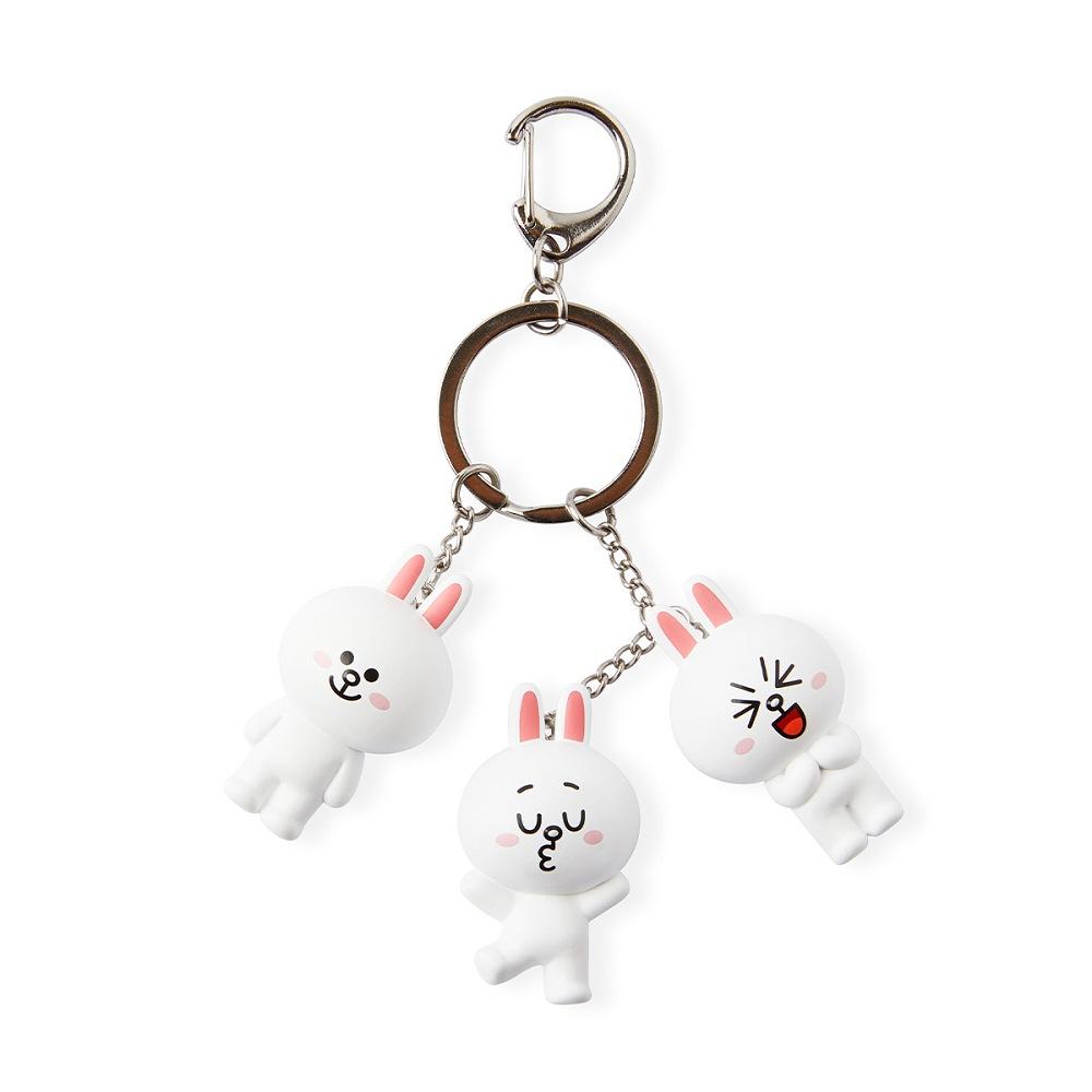 兔兔 公仔鑰匙圈(POSE款)