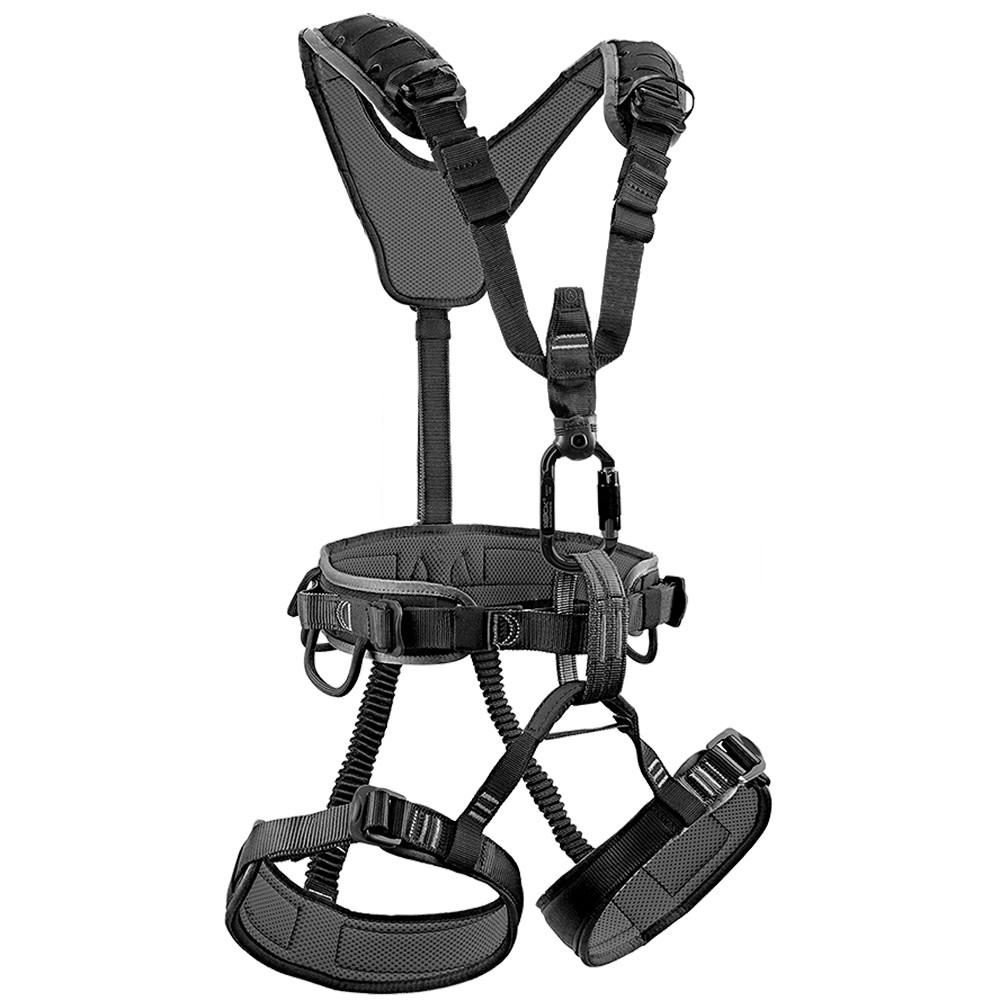 捷克 Rock Empire Equip Black 軍規 全身式安全吊帶 全黑 SVE021 (XS-M、M-XXL)