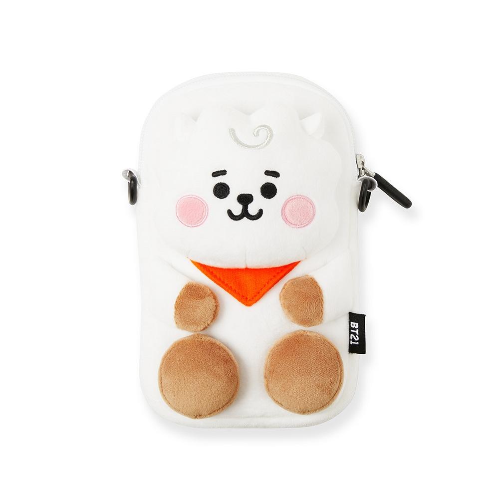 【3/5-3/26滿額最高折300】BT21 RJ 娃娃造型收納包(附掛繩/BABY系列)